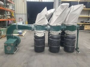 Rees Memphis C1030 4 10hp 3 Phase Dust Collector 3988sr