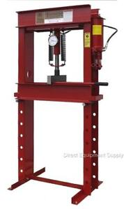 20 Ton Hydraulic 2sp P r H frame Shop Press Usa 100 150 50