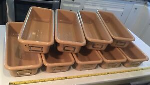 Lot Of 9 Vintage Artist Storage Bins Factory Industrial Age Steampunk