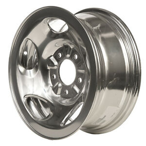 Polished 5 Slot 16x7 Factory Wheel 2004 2004 Ford Heritage