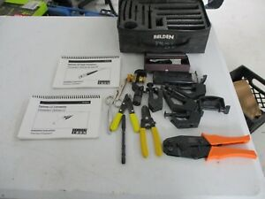 Belden Fiber Optical Splicing Tool Kit Used Free Shipping