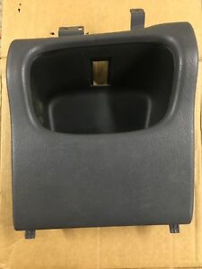 1998 1999 2000 2000 20002 Dodge Ram Dash Storage Cubby Cup Holder Delete Grey