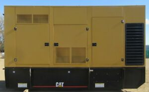 500 Kw Caterpillar Diesel Generator Cat Genset Load Bank Tested