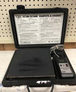 Cps Model Cc 100 Compute a charge Refrigerant Scale Hvac