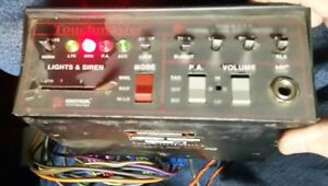 Federal Signal Touchmaster Siren And Lights Controller Used Works
