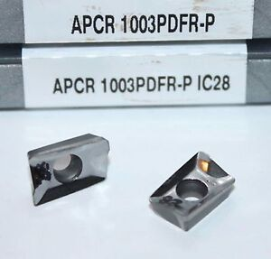 Apcr 1003pdfr p Ic28 Iscar 10 Inserts 1 Factory Pack