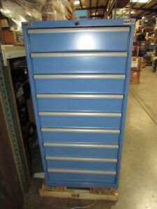 Lista 9 Drawer Steel Cabinet