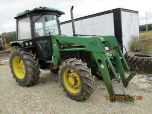 John Deere Tractor 2355 With Loader 4x4 Good Running Condition