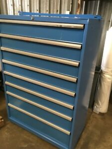 Lista 8 Drawer Locking Steel Cabinet