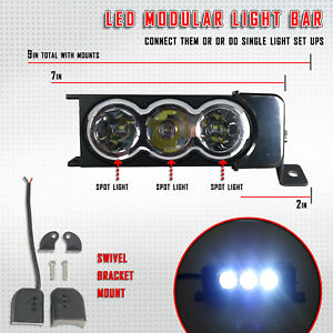 7 30w Cree Spot Led New Detachable Light Bar Off Road Truck Jeep 6000k White