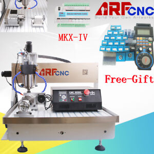 6090 2 2kw 4axis Cnc Router Cnc Engraver Milling Engraving Carving Machine Us