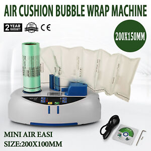 Air Easi Cushion Bubble Wrap Machine 2800pc Package Bag Tabletop Easy To Operate