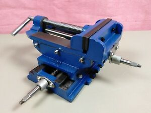 6 6 Inch Cross Slide X y Xy Compound Vise Milling Drill Press Central Forge 34