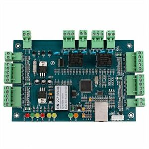 Tcp ip Wiegand Entry Access Control Board Panel Controller For 2 Door 4 Reader M