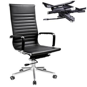 Computer Executive Home Office Chair Pu Leather Swivel High Back 360 Rotation