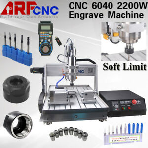 Hot 4axis 6040 Desktop Cnc Router Engraver Milling Machine Engraving Drilling