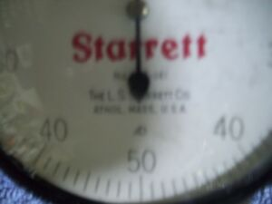 Pre owned Starrett 656 141 Large Face Dial Indicator