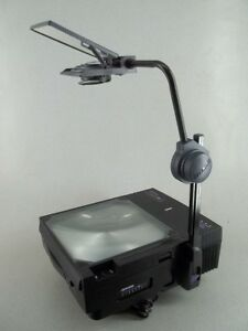Dukane Starfire Sf3010 Portable Overhead Transparency Projector Free Shipping