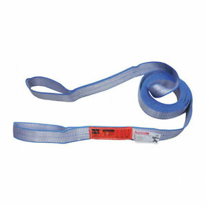 Web Lifting Sling Tow Strap Nylon Polyester Type 3 Flat Eye Eye 1 ply 2 ply
