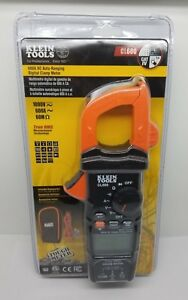 Klein Tools Cl600 600a Ac Auto ranging Digital Clamp Meter