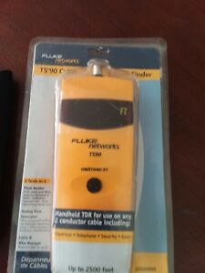 Nib Harris Fluke Ts90 Cable Fault Finder W Manual And Abn Test Leads