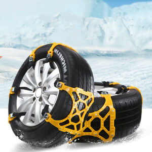 Car Snow Tire Anti skid Chains Beef Tendon Mud Wheel Safety Chain Vehicle Truck