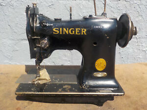 Industrial Sewing Machine Model Singer 108w1 Single Walking Foot Light Leather