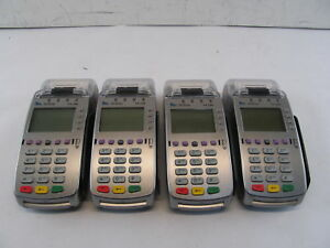 Lot Of 4 Verifone Vx520 Credit Card Processing Terminals W Chip Reader 28154