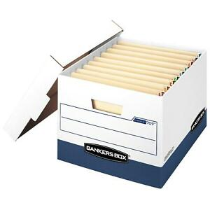 Bankers Box Stor file Heavy duty Storage Boxes With End Tabs Letter legal 12