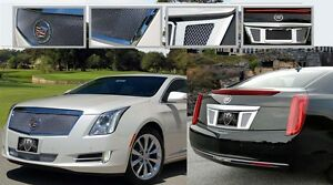 Cadillac Xts E G Fine Mesh 2 Piece Grille Rear Tag Surround Combo