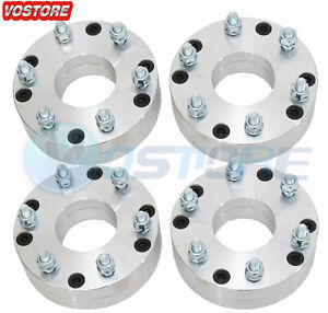 4 5x4 75 To 6x5 5 Wheel Spacers Adapters 2 For Chevrolet Corvette Silverado