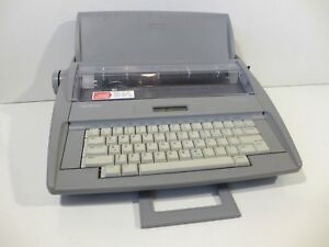 Brother Sx 4000 Electric Electronic Typewriter With Keyboard Cover Tested