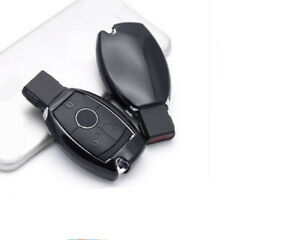 Black Car Remote Control Key Case Cover For Gla Glc C S E Series A Key To Start