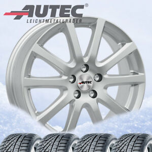 4 Winter Wheels Tyres Skandic Sil 215 60 R17 96h For Toyota C hr Continental