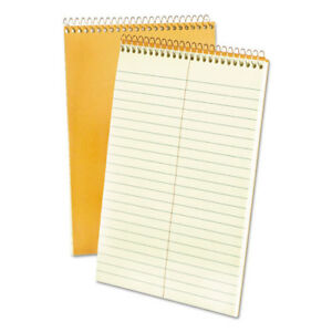 Steno Book 15 Lb Gregg Ruled 60 Sheets 6 x9 Gn Tint Top25270