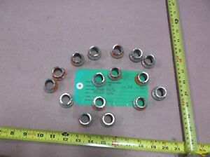 Heavy Duty Extended Washer Self locking Nut Fn22 1216 3 4 H11 qty 16