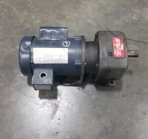 Dayton Gearbox Speed Reducer 2z934a 29 1 Ratio 1 Shaft 1 Phase Motor 6526sr