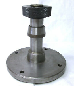 Lathe Face Plate 4 3 4 Diameter Spindle Stem 4 1 4 Height
