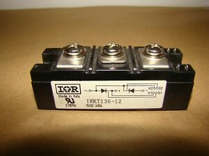 International Rectifier Module Irkt136 12 New