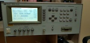 Hp 4284a Precision Lcr Meter 20 Hz To 1 Mhz 0 01m Ohm To 100m Ohm