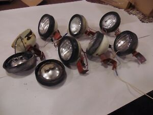 Farmall 1066 Diesel Farm Tractor Cab Lights look