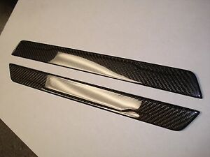 New 2012 2016 Ford Focus st Rs Carbon Fiber Front Door Sill Plates Hatch sedan