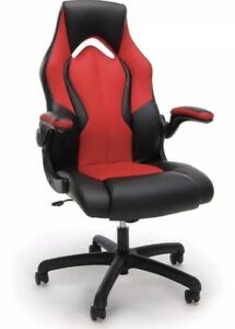 Leather Gaming And Office Chair red