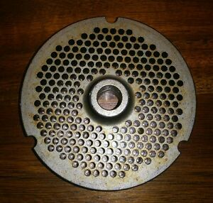 Kasco Meat Grinder Plate Part No 3248 3 15 16 O d 1 2 Bore