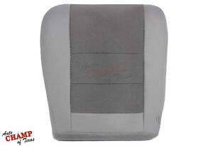 2005 Ford Excursion Xlt Xls Driver Side Bottom Replacement Cloth Seat Cover Gray