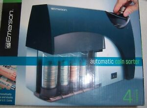 Emerson Automatic Coin Sorter Boxed Model 1633724 New