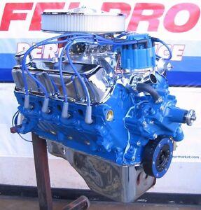 Ford 351 Windsor 345 Hp Turn Key High Performance Balanced Crate Engine