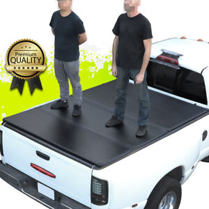 For 05 18 Nissan Frontier 5ft Short Bed Hard Solid Tri fold Tonneau Cover Kit