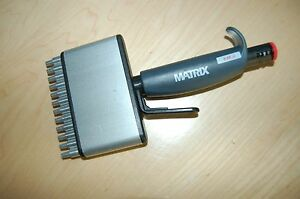 Matrix Pipette Pipet Multichannel 12 Channel 5 50 Ul Variable Volume Ejector
