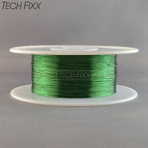Magnet Wire 26 Gauge Awg Enameled Copper 2520 Feet Coil Winding Essex Green